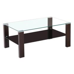 Konferenčný stolík, wenge/sklo, JAGO