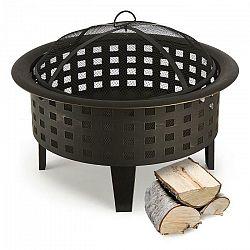 Blumfeldt Boston, ohnisko, nádoba na oheň, Ø 70 cm, oceľ, čiernené
