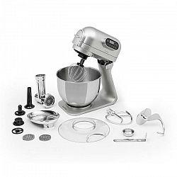 Klarstein Curve Plus, kuchynský robot, sada, 5 l, 4-in-1, mlynček na mäso, strieborný
